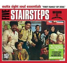 FIVE STAIRSTEPS Complete Curtis Mayfield Years NEW & SEALED SOUL CD (OUTTA SIGHT