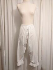 Vintage Replica Civil War 19th Century Half Handsewn Pantaloons