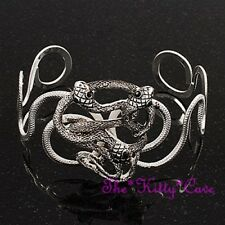Belly Dance Egyptian Cleopatra Pharoah Cobra Asp Snake Serpents Knot Cuff Bangle