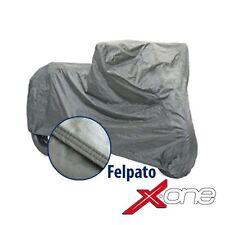 TELO COPRIMOTO COPRI MOTO SCOOTER FELPATO SAGOMATO tg L 232x100x125cm 250gr / mq