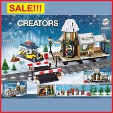 ✅10259 Lego Building Winter Village Station Christmas Scene New & Sealed For Kid