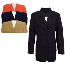 Manteaux et vestes blazer en polyester pour femme