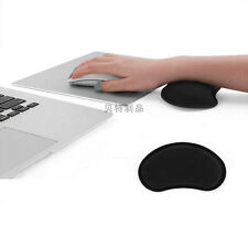Silica GEL Mouse Mat Pad With Rest Wrist Comfort Support Laptop PC Anti Slip