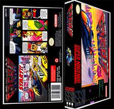 F Zero - SNES Reproduction Art Case/Box No Game.