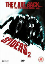 Spiders 2 NEW PAL Cult DVD Sam Firstenberg Stephanie Niznik Greg Cromer D. Quinn