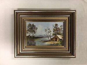 "Original Oil Painting E Sampt (20th Century Australian) ""Tweed River NSW"""