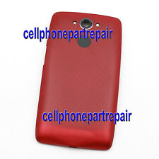 Battery Cover Door Repair For Motorola Moto Maxx Turbo Quark XT1225 XT1254 Red