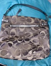 Coach Brooke Signature C Gray Med. Sz Hobo/Handbag