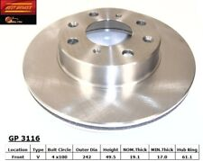 Disc Brake Rotor-DX Front Best Brake GP3116