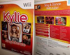 Kylie Minogue Sing & Dance Karaoke Musik + Tanz Wii Spiel Musikspiel Tanzspiel O