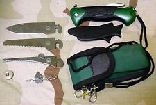 Multifunktionsmesser Outdoor Messer Klappmesser  Taschenmesser Gürteltasche