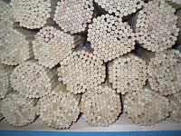 100 Rankhilfen, Pflanzstäbe, Splittstäbe aus einheimischen Holz 81 cm lang Rund