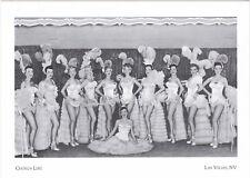 """Show-Girls/Chorus-Line"" -The Last Frontier-Las Vegas, NV {Postcard} (A6-2)"