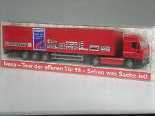 Sonderpreis: Wiking Werbemodell Iveco Sattelzug Tour der offenen Tür 1998 in OVP