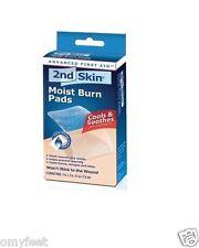 """Spenco 2nd Skin Moist Burn Pads 1st 2nd Degree Burn Sterile 4- 2""""x3"""" 47-019 Med"""