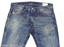 NEUF DIESEL Thavar 802J Jeans 0802J 30X32 Slim Skinny Coupe Droite BNWT