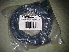 Amconn RM series KVM switch cables KC15c9p 10ft