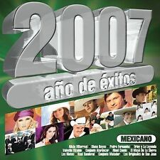 Various Artists : 2007 Ano De Exitos Mexicanos CD