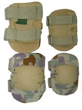 AUS DESERT CAMO COMBAT ELBOW PADS NON-SLIP TACTICAL CAMOUFLAGE PAIR PROTECTOR