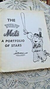 NY METS 1969 PORTFOLIO OF STARS BRUCE STARK DAILY NEWS 20 PORTRAITS NOLAN RYAN +