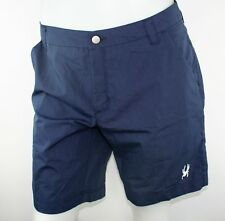 Spyder Ryder Woven Short Mens Size Large Navy Blue Pockets Fishing Camping