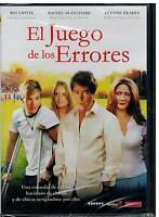 El juego de los errores (Comeback season) (DVD Nuevo)