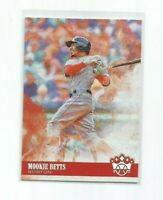 MOOKIE BETTS (Boston Red Sox) 2018 PANINI DIAMOND KINGS BASEBALL CARD #62
