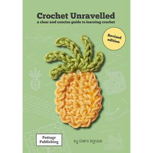 Left Handed Learn How to Crochet Booklet for Beginners UK (Crochet Unravelled)