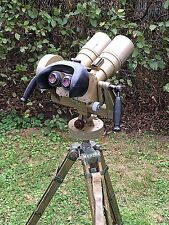 10 x 80 Flak  Binoculars German Army NVA Dienstglas with Zeiss cleaning set +
