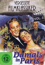 DVD - Damals in Paris - Vergessene Filmklassiker Vol. 3 - Elizabeth Taylor