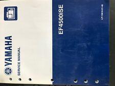 yamaha generator ef4500ise inverter service manual, lit-19616-01-4