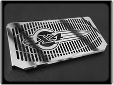 HONDA CB1300 X4 Style Polished Radiator Grill - 1998 to 2002, CB 1300