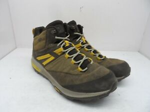MERRELL Men's Zion Mid Waterproof Hiking Boot J16889 Seal Brown Leather Size 12M