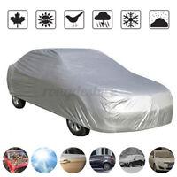 Outdoor Indoor XL Waterproof Universal Car Cover Jersey Breathable UV  F