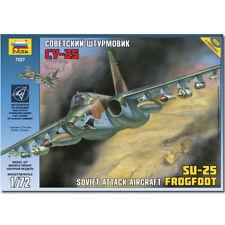 Zvezda 7227 Su-25 Frogfoot 1:72 Avión Model Kit