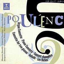 Francis Poulenc: Concertos, Aubade, Les Biches [CD]