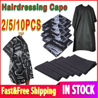 Professional Hair Cut/Cutting Salon Barber Hairdressing Unisex Gown Cape Apron~~