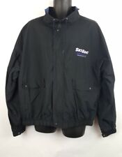 Vintage Ski Boat Magazine Jacket XL Black Water Skiing J6