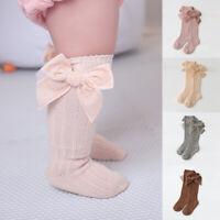 Kids Baby Socks Warm Stockings Infants Toddlers Knee High Rib Socks Girl Winter