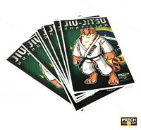 Jiu Jitsu Gi Patch Tiger on Kimono  MMA UFC  Grappling BRAZIL fightwear