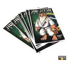 """Patch for JIU-Jitsu GI KIMONO """"BJJ tiger"""" jiu-jitsu,ufc,BJJ,grappling 30X15cm"""