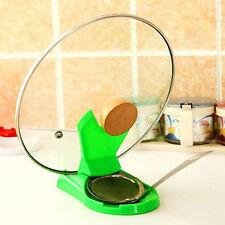 Kitchen Spoon Pot Lid Shelf Cooking Storage Kitchen Home Tool Stand Holder HOT