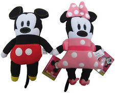 "Mickey and Minnie Pook A Looz 12"" stuffed Plush Disney pookalooz New with tags"