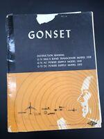 Original GONSET G-76 Multi Band Radio Transceiver Model 3338 Instruction Manual