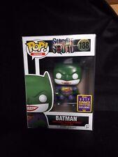 SDCC 2017 Funko Pop! Movies: Suicide Squad Joker Batman Exclusive W/ PROTECTOR