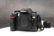 ~Nikon D70 6.1 MP Digital SLR Camera Body w/Neck Strap