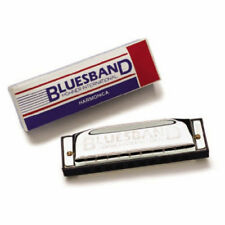 Hohner blues Band Armónica #1501 clave de C
