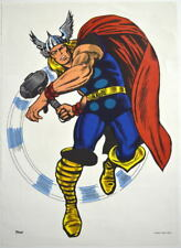 MIGHTY THOR MMMS CLUB POSTER Marvel RARE Personality Poster 1966 Marvelmania