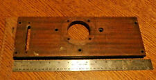 Victor Victrola Phonograph Wood Tone Arm Support Board - Mahogany