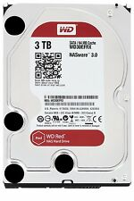 HARD DISK 3,5 WESTERN DIGITAL RED 3TB SATA3 5400rpm 64MB 3000GB WD30EFRX PER NAS